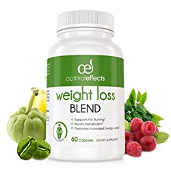 Weight Loss Blend by Optimal Effects with Green Coffee Bean, Grean Tea, Caffeine, Raspberry Ketones, and Garcinia Cambogia