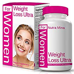 Weight Loss Ultra for Women, with Green Coffee Bean Extract, Raspberry Ketones, Garcinia Cambogia and Green Tea Extract, Natural Appetite Suppressant, Boosts Thermogenesis & Metabolism