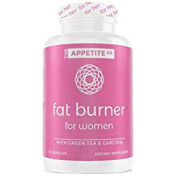 Appetite Suppressant | Weight Loss Pills for Women | Fat Burner for Women | Boost Energy & Metabolic Rate | Keto Pills | Carb Blocker | 60 Count