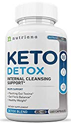Best Keto Detox Cleanse Weight Loss Pills for Women and Men – Keto Colon Cleanser and Detox for Weight Loss – Ketogenic Diet Support to Boost Energy and Flush Toxins – 60 Count