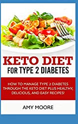 Keto Diet for Type 2 Diabetes: How to Manage Type 2 Diabetes Through the Keto Diet Plus Healthy,Delicious,and Easy Recipes!