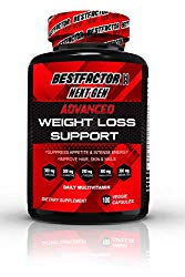 Weight Loss Pills for Women & Men by BESTFACTOR (100 Veggie Caps). Thermogenic Fat Burner & Appetite Suppressant. Fast Metabolism Diet Pills & Weight Loss Supplements for Energy – Daily Multivitamin.