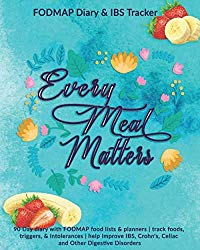 Every Meal Matters: FODMAP Diary & IBS Tracker: 90 Day diary with FODMAP food lists & planners   track foods, triggers, and intolerances   help … Crohn's, Celiac and Other Digestive Disorders