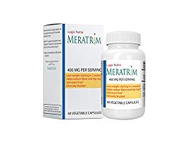 Meratrim 800 mg in 60 Vegetarian Capsules Pure Weight Loss Slimming Formula 400mg Daily ,Stimulant Free