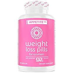 Weight Loss Pills for Women – Appetite Suppressant for Weight Loss for Women – Keto Pills – GoBHB Patented Formula – Diet Pills That Work – 60 Capsules