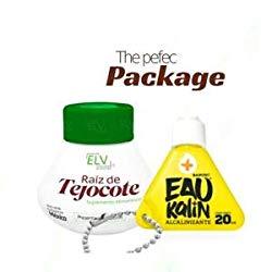 Alipotec Raiz de Tejocote Root Original Weight Loss Supplement from ELV, with Eau Kalin Alkaline Water