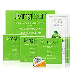 Living Lean Detox Cleanse Game Changers Kit 15 Days – Vegan Natural Organic -Alkaline Your Body For Healthy & Sustainable Weight Loss & Digestion Support-Powerful Colon, Kidney, Liver & Bowel Cleanser