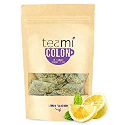 Teami® Colon Cleanse Detox Tea – 15 Tea Bags, 30 Day Supply (Lemon)