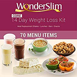 WonderSlim Core 2 Week Diet Kit – Complete Weight Loss Package – Meal Replacements, Protein Supplements, Snacks and Lifestyle Guide